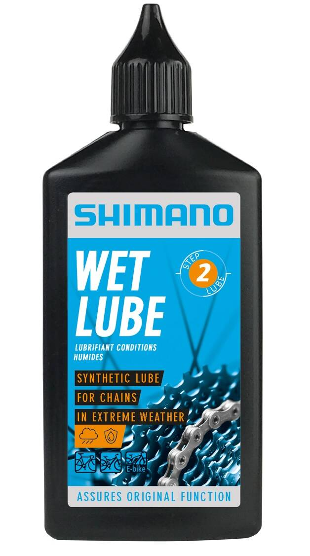 Shimano olej WET Lube do łańcucha na mokre 100ml