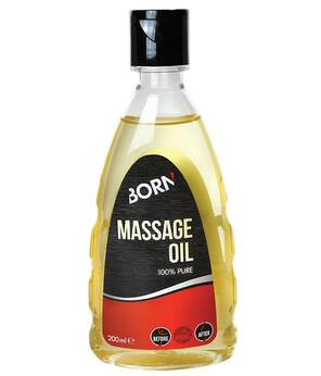 BORN Olejek Massage Oil 100% Pure 200ml